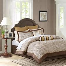 Madison Park Bedding Madison Park Aubrey 12 Piece Gold Jacquard Comforter Set