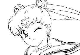 download blinking sailormoon coloring pages print blinking