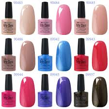 clou beaute 8ml any 6 colors shellac set base top u2013 wholesale clou