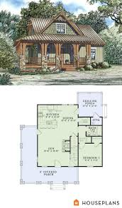 Floor Plans For Small Cabins by 143 Best House Plans Images On Pinterest Country House Plans