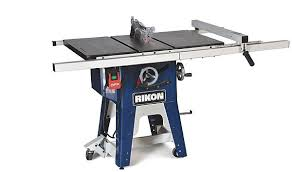 laguna fusion table saw rikon 10 201 table saw power tools wood talk online
