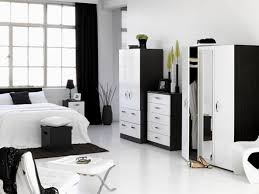 black and white bedroom ideas for young adults round shape grey