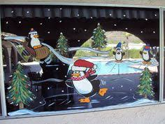 Christmas Window Decorations Paint by Christmas Humour Window Painting Window Painting Pinterest