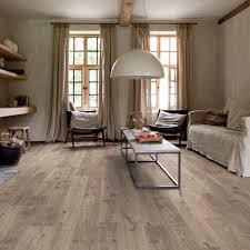 Canyon Oak Laminate Flooring Quick Step Balance Click Cottage Oak Brown Grey