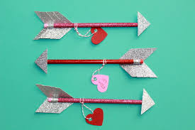 diy valentine u0027s day pencil arrows make great gifts for