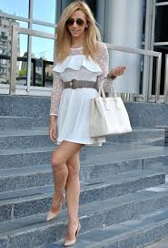 16 gorgeous white dress ideas for spring summer 2014