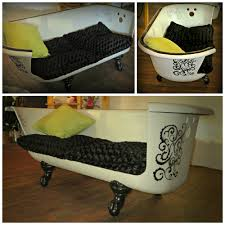 Claw Feet For Tub Claw Foot Tub Made Into A Couch Www Petalsofwytheville Com In