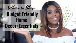 glam home where to shop for home decor essentials on a