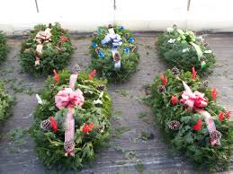 Cemetery Christmas Decorations What Are Grave Blankets