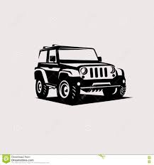 jeep silhouette modern suv logo template stock vector image 82060828