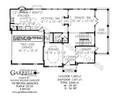 English Style House Plans by Brickell Manor B House Plan House Plans By Garrell Associates Inc