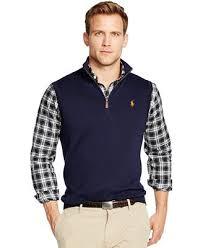macy s ralph sweaters polo ralph half zip pima vest sweaters macy s