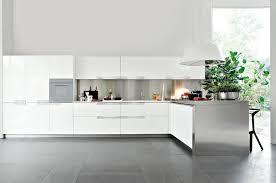 cuisine design blanche cuisine blanche laquée 99 exemples modernes et élégants