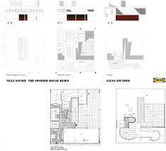 Villa Savoye Floor Plan by Carl Wärn Arkitekt