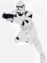 ph2 clone trooper lineart by sonny007 on deviantart