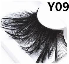 black light feather eyelashes halloween stage effect