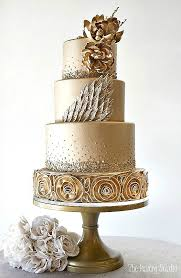 wedding cake gold gold leaf wedding cakes home made interest