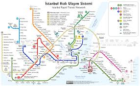 Map Of Metro by Metro Maps Of Istanbul 2017 Istanbul Private Tour Guide