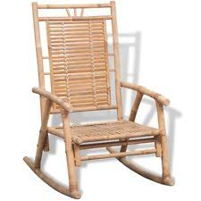 Bamboo Rocking Chair Rocking Chairs Ebay