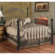 rustic metal bed frames grey iron bed frame vintage bedroom