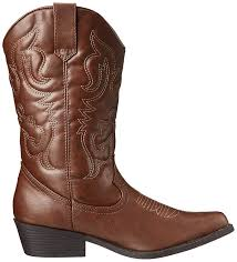 mens brown biker boots amazon com madden women u0027s sanguinw western boot brown 6 w