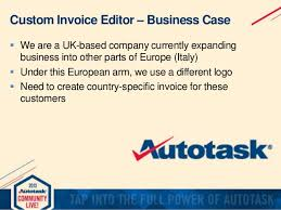 invoice editor creating your own