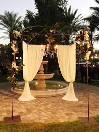chuppah canopy iron rod canopy chuppah arrangements floral party design