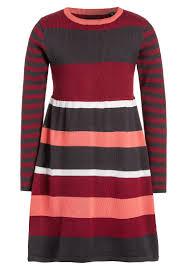 blue seven strikket kjole bordeaux barn outlet klær kjoler