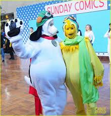 Snoopy Halloween Costume Today Show U0027 Hosts Wear Spot Peanuts Halloween Costumes Photo
