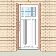 Standard Door Size Interior Bedroom Door Height Betweenthepages Club