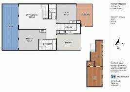 ocean shores floor plan 20 2 langi place ocean shores nsw 2483 sold nov 2016