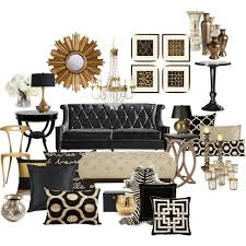 Cool Wonderful Living Rooms Black And Gold Room Amusing 33 Modern Living Room Design Ideas Gold Rooms Of Black And