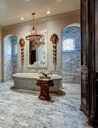 Custom Bathroom Designs Custom Bathroom With Walk Through Shower Yep That U0027s What He