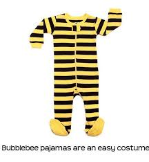 Bumble Bee Baby Halloween Costumes Toddler Halloween Costume Ideas Pajamas Rookie Moms