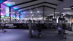 new age fitness gym interior visualisation youtube