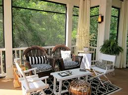 Black Outdoor Curtains Outdoor Curtains For Screened Porch Porch Traditional With Area