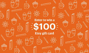 how to win gift cards enter to win 100 etsy gift card