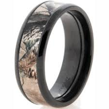 camo mens wedding band camo wedding rings for him wedding corners