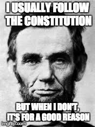 Abraham Lincoln Meme - division and reunion slavery and the civil war
