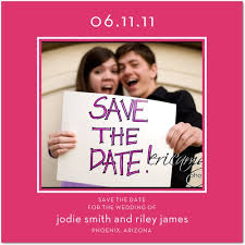 Save The Date Samples 4x4 Custom Save The Date Magnets 20 Mil Square Corners Save The