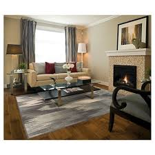 Area Rugs Richmond Bc Modern Waves Area Rug Gray Target