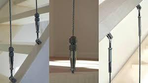handlauf fã r treppen treppengelander seil seilspann set 3 fa 1 4 r seil 4mm mit gelenk
