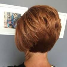 modified stacked wedge hairstyle short wedge haircuts back view how to do a short stacked haircut