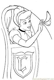 cinderella coloring 05 coloring free cinderella