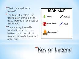 what is a map legend different types of maps and how to read them ppt