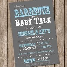 barbecue baby shower invitation bbq baby shower invitation