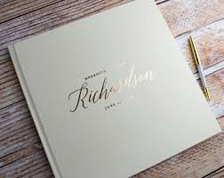 wedding registry books guest book etsy