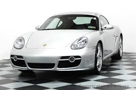 porsche cayman s used 2006 used porsche cayman certified cayman s coupe 6 speed sport