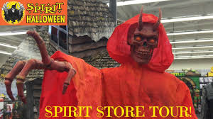 how to get in the halloween spirit spirit halloween store animatronic monsters youtube