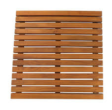 Teak Outdoor Shower Enclosure by Amazon Com Seateak 60022 Teak Shower Or Door Mat Oiled Finish